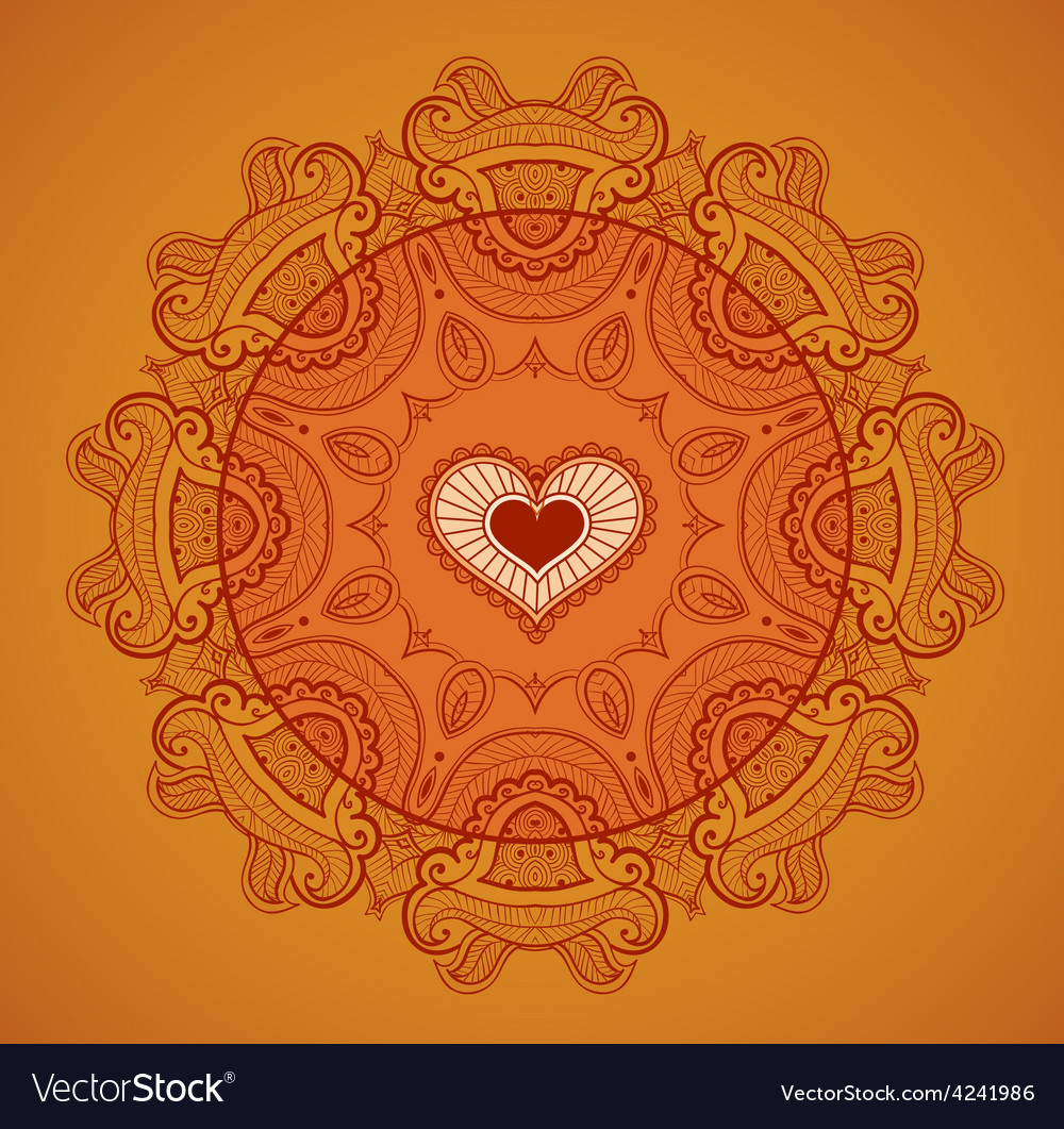 Lace background for greeting card like Indian