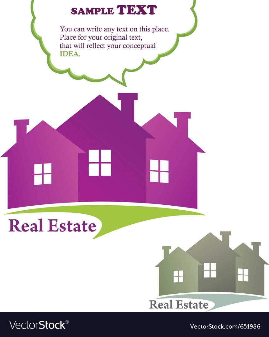 Three houses real estate