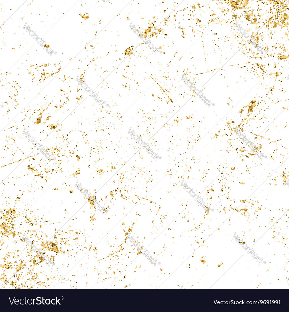 Light grunge gold white texture long vector image