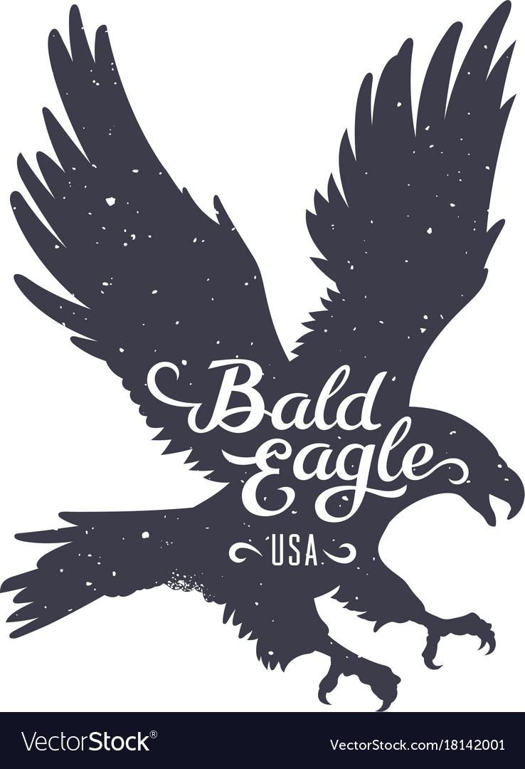 Eagle silhouette 003