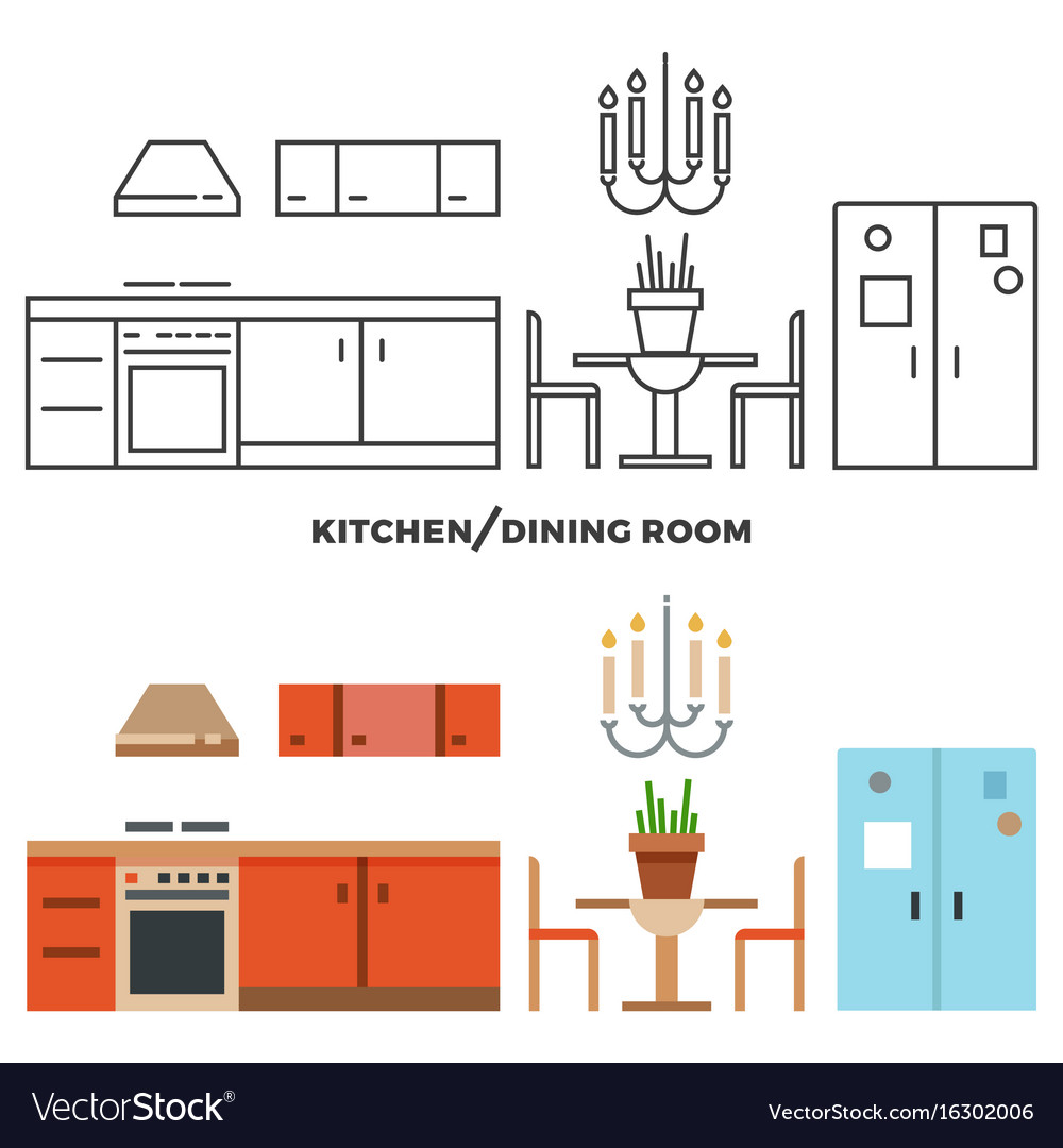 Kitchen and dining room furniture and accessories