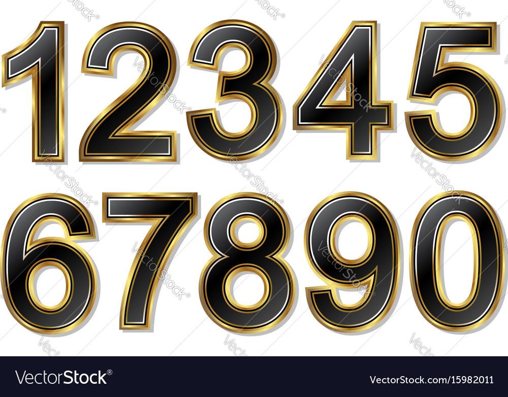 Set golden numbers