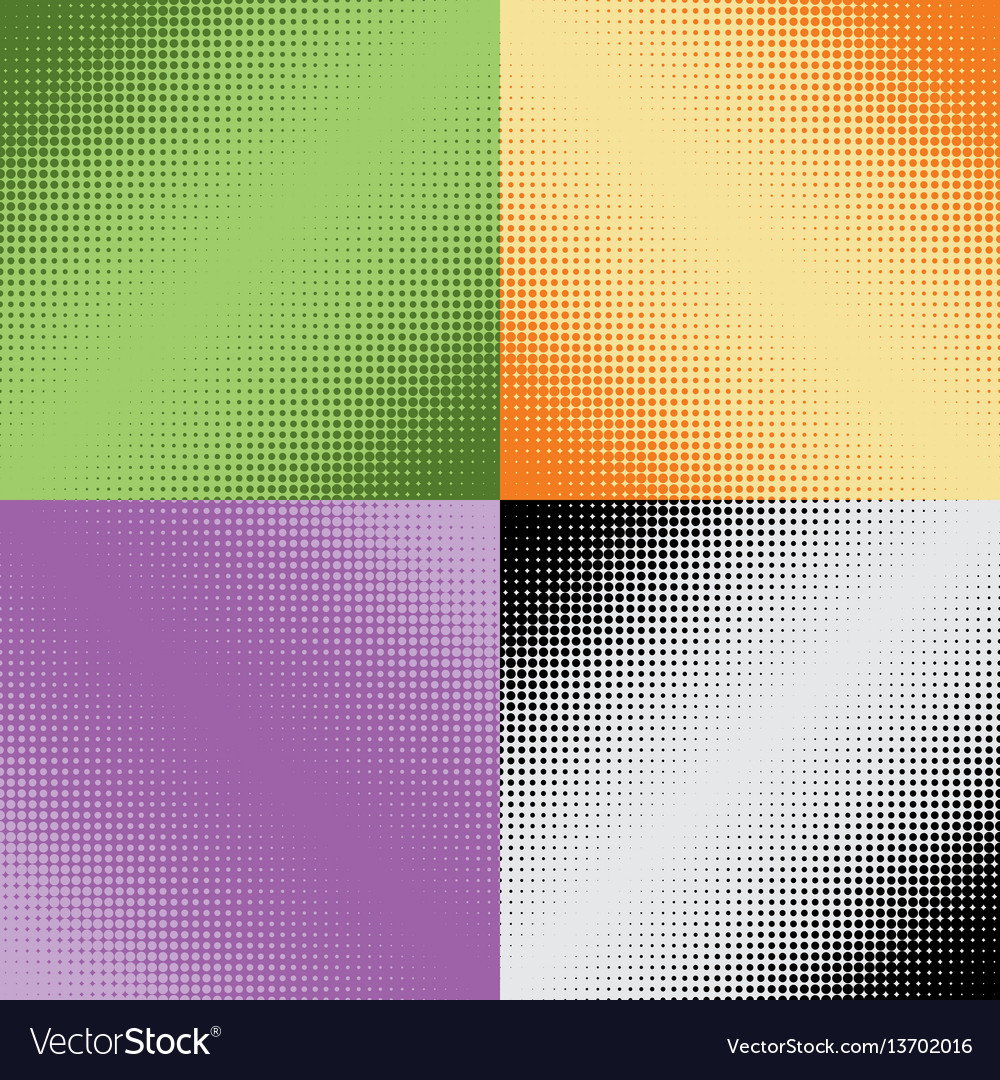 Halftone texture seamless pattern raster effects
