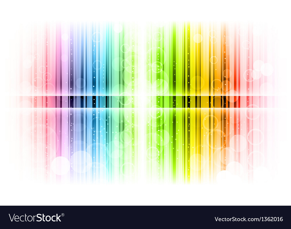 Vertical lines abstract rainbow
