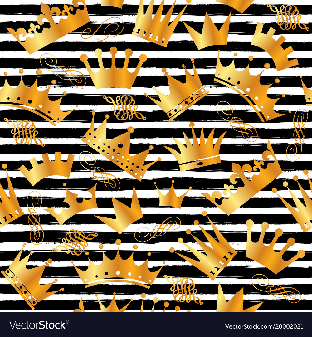 Golden glitter texture with hand draw black lines