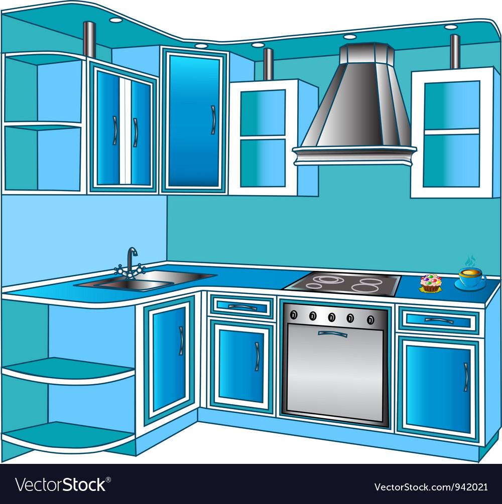 Kitchen Unit Royalty Free Vector Image - VectorStock