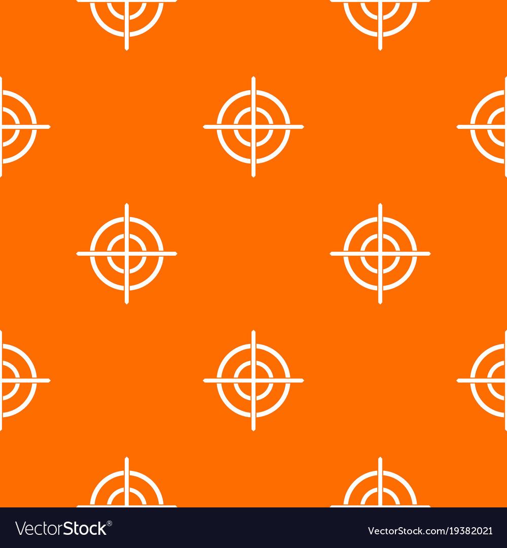 Target crosshair pattern seamless