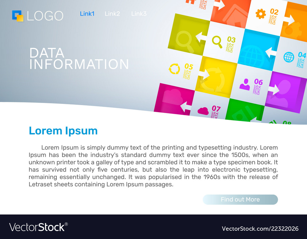 Data information cover