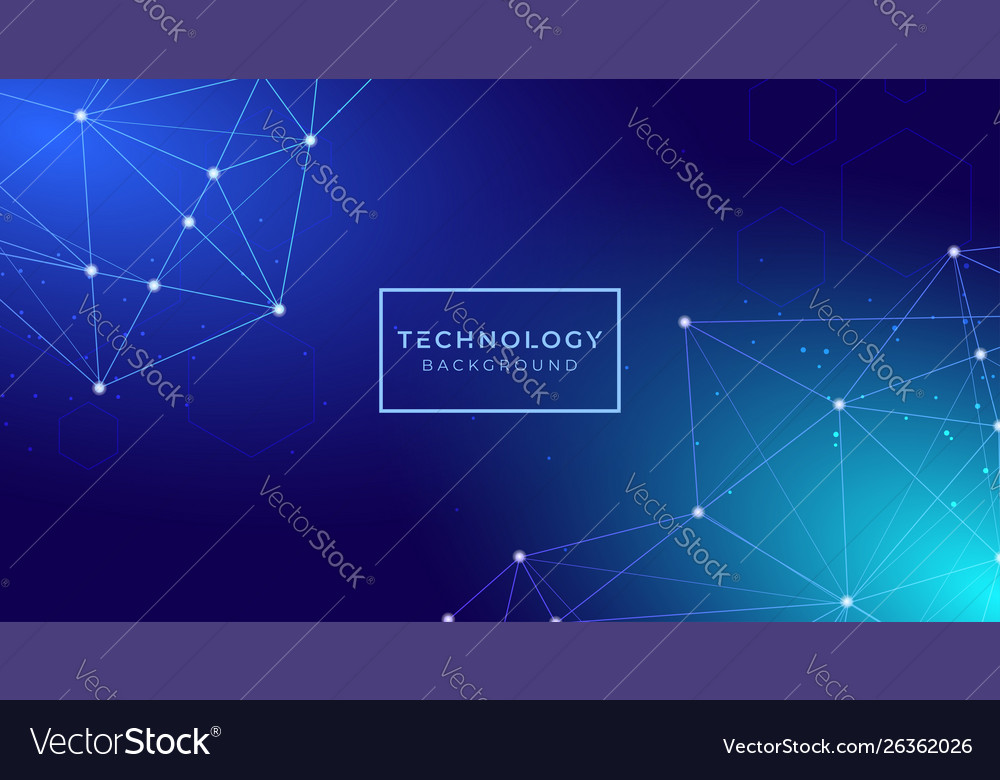 Futuristic digital abstract technology background