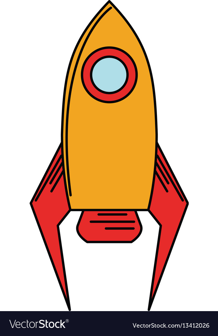 Rocket startup launch icon