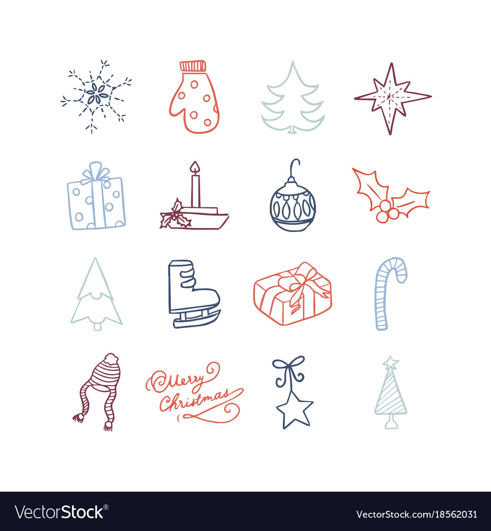 Christmas cute icon