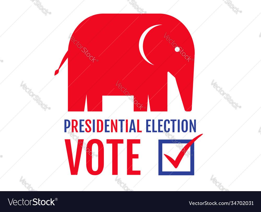 Donkey and elephant elections 2020