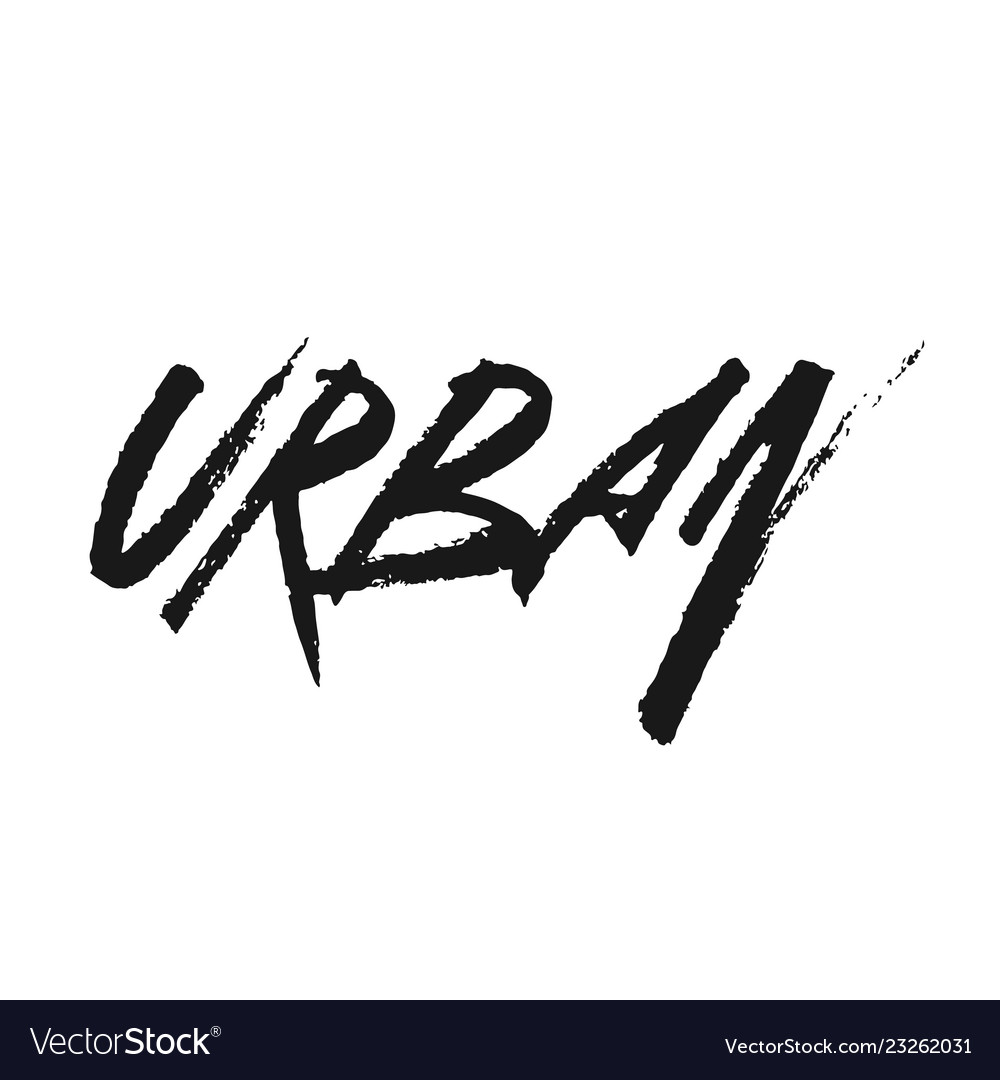 Inscription urban in dirty graffiti style
