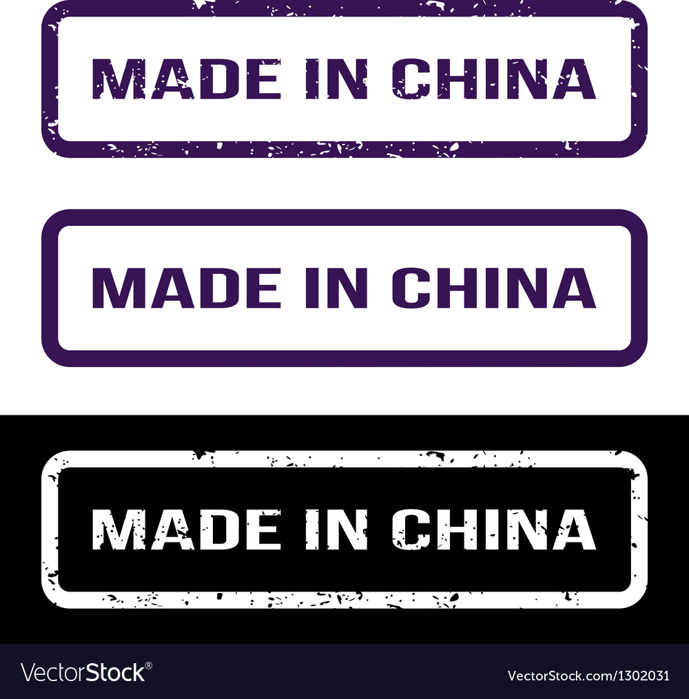 Made In China Grunge Rubber Stamp Set For Any
