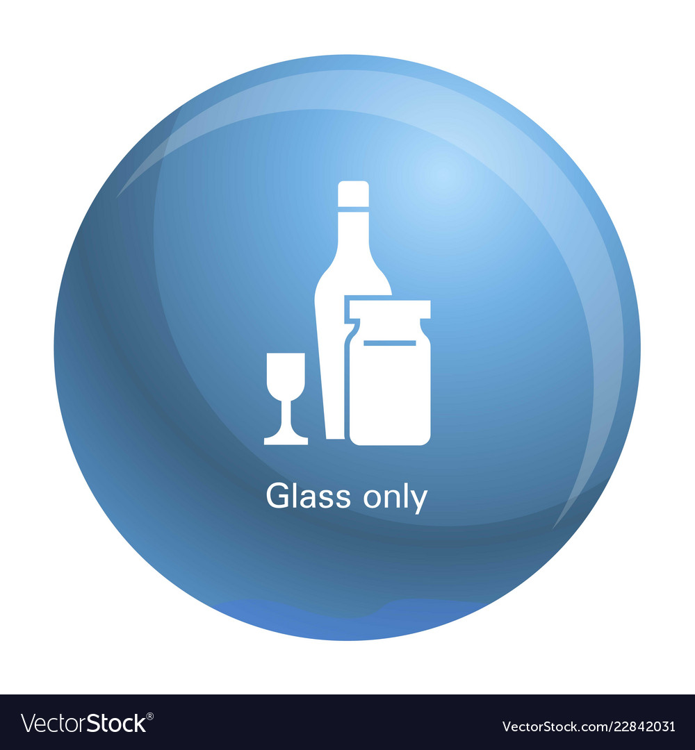 Wine glass bottle icon simple style