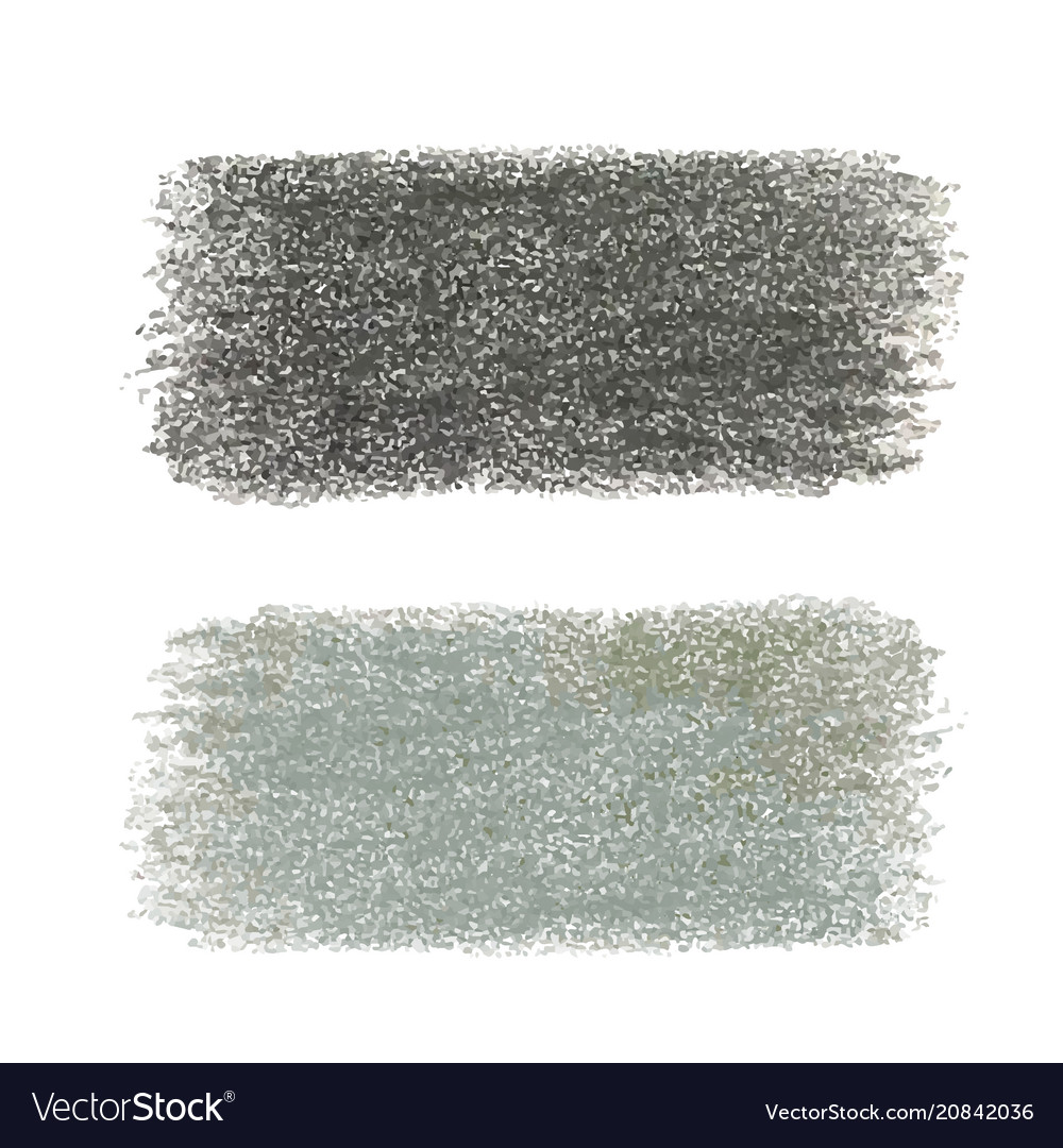 Black crayon scribble texture stain isolated on
