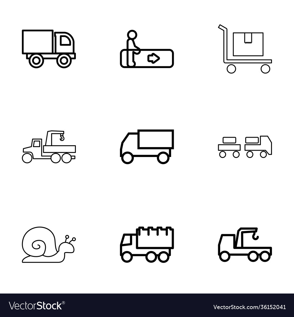 9 moving icons