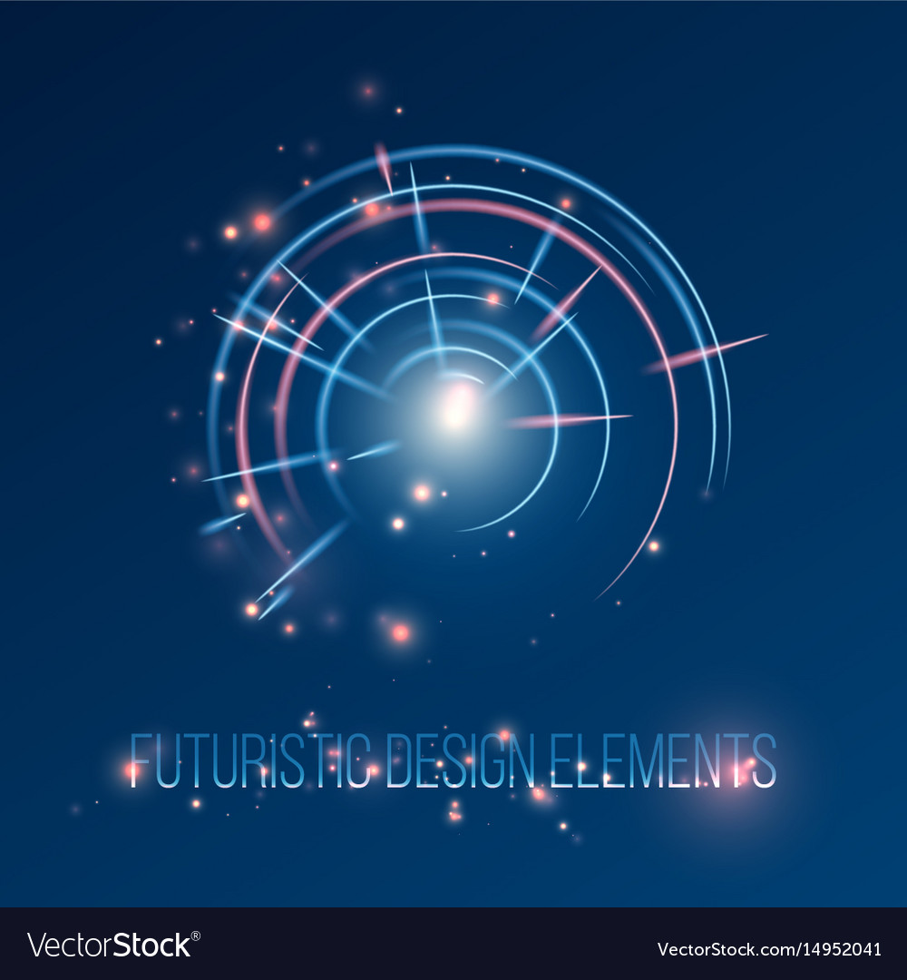 Hud futuristic abstrac background design elements