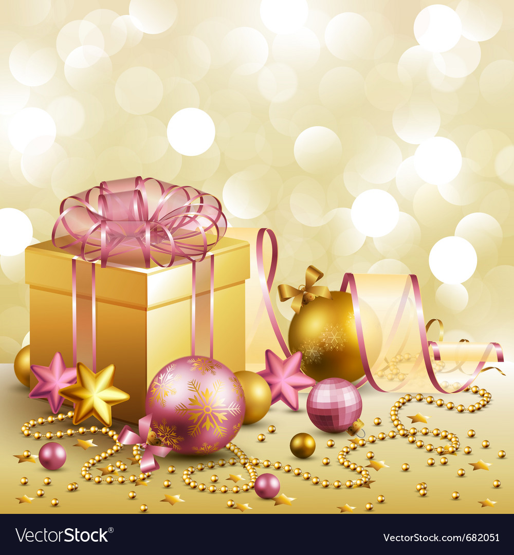 Beautiful christmas background Royalty Free Vector Image