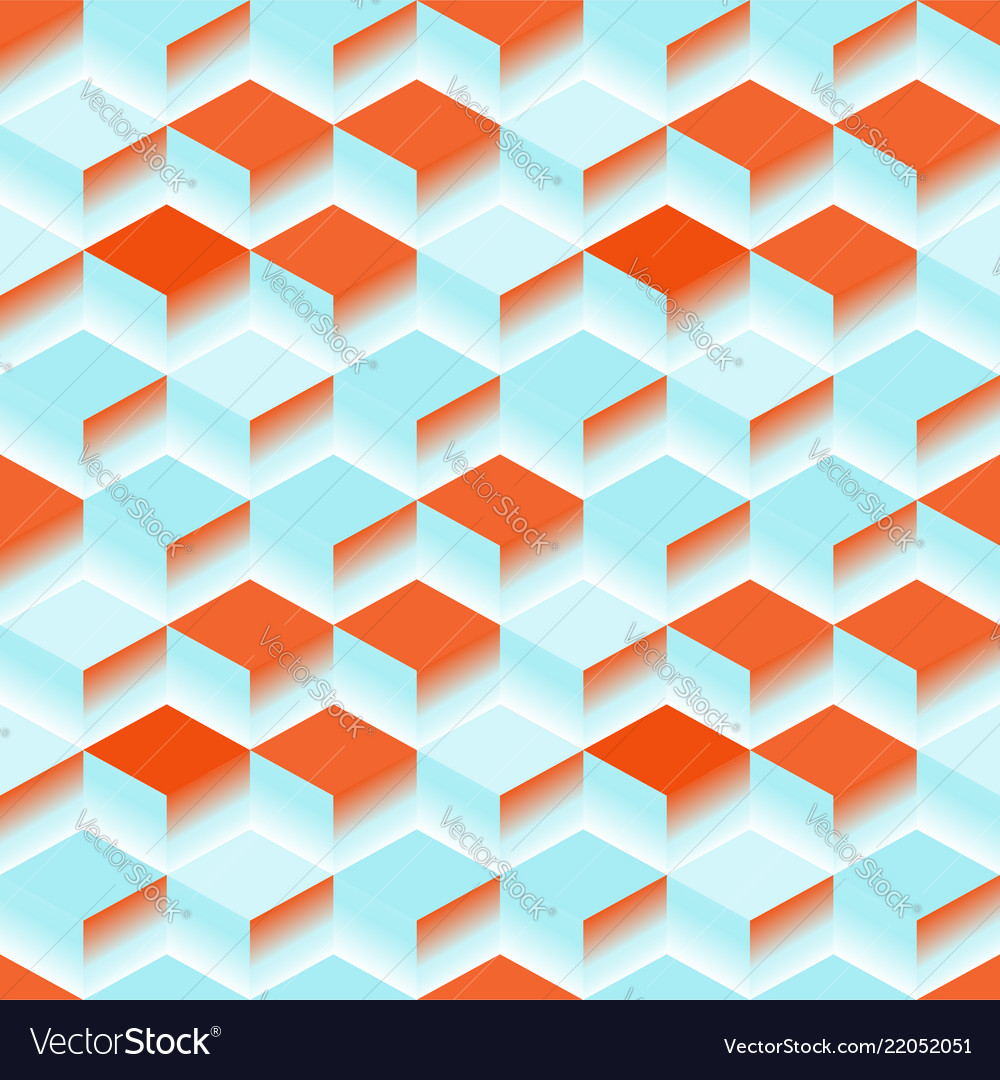 Blue abstract texture background 3d cube