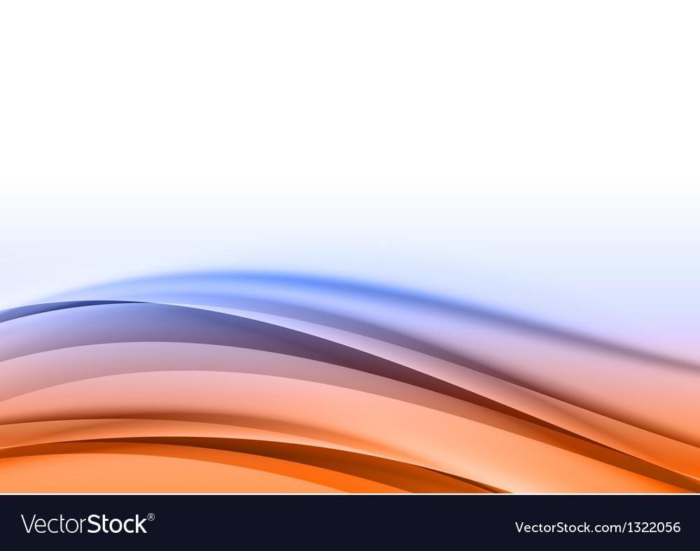 Abstract blue orange back