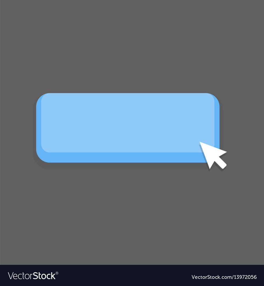 Blue button mouse click