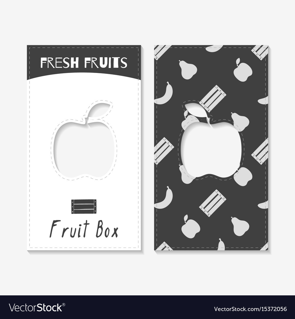 Fruit business cards