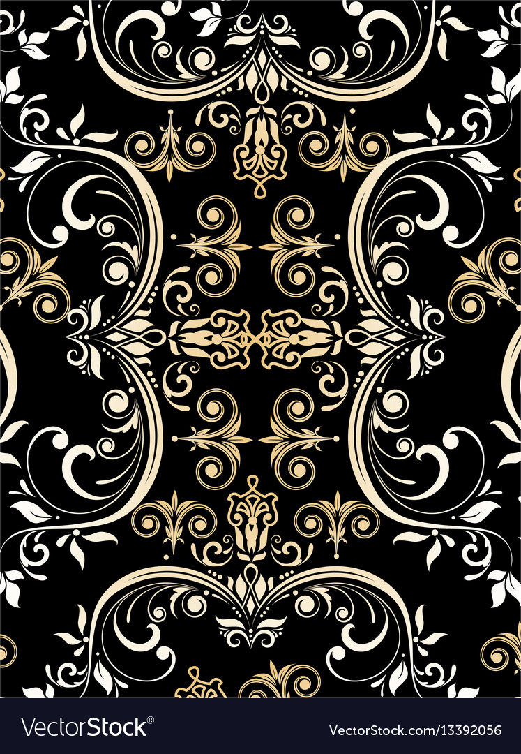 Intage pattern vector image
