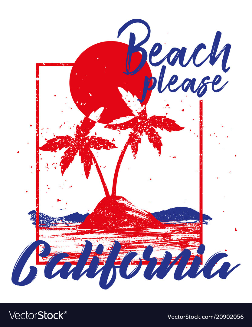 Pattern palms california
