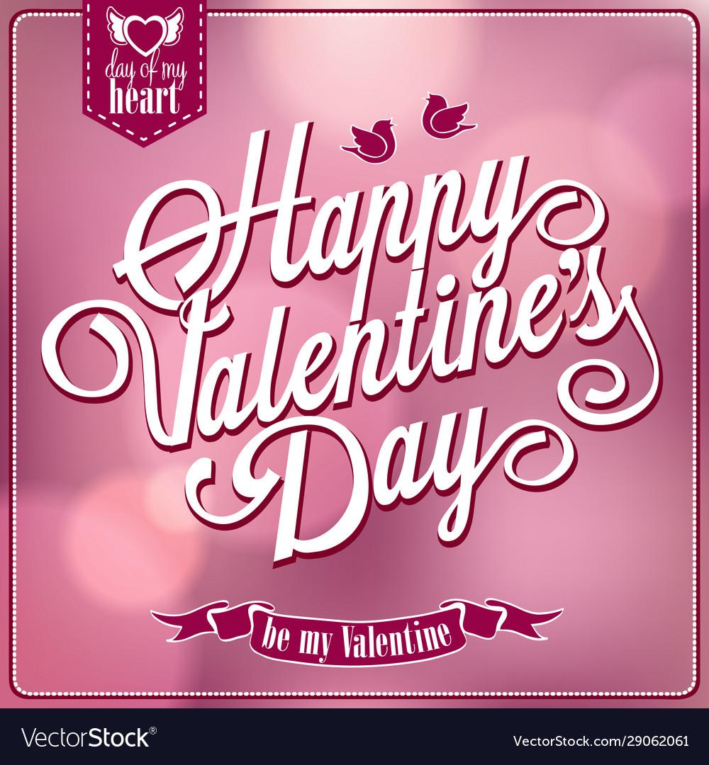 Happy valentines day backgroun
