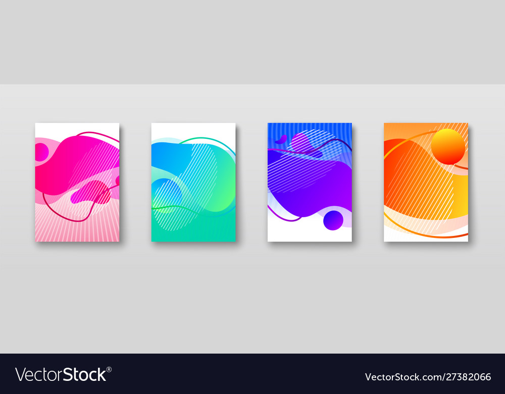 Bright color abstract