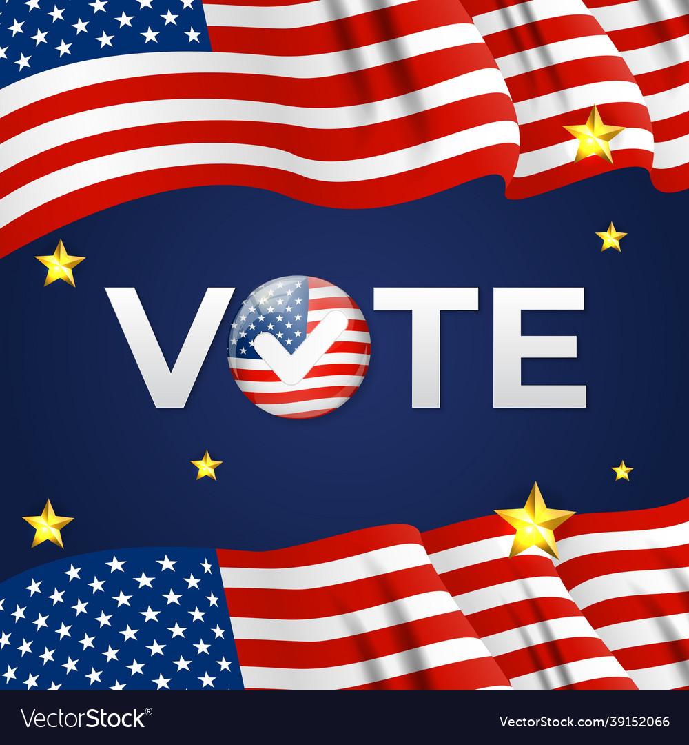Usa election company poster