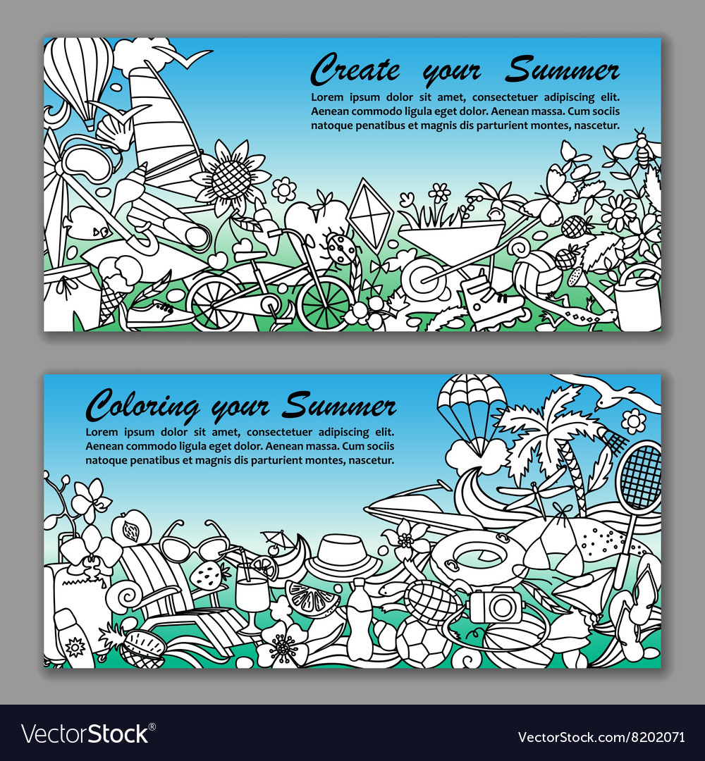 Create your Summer Fliers
