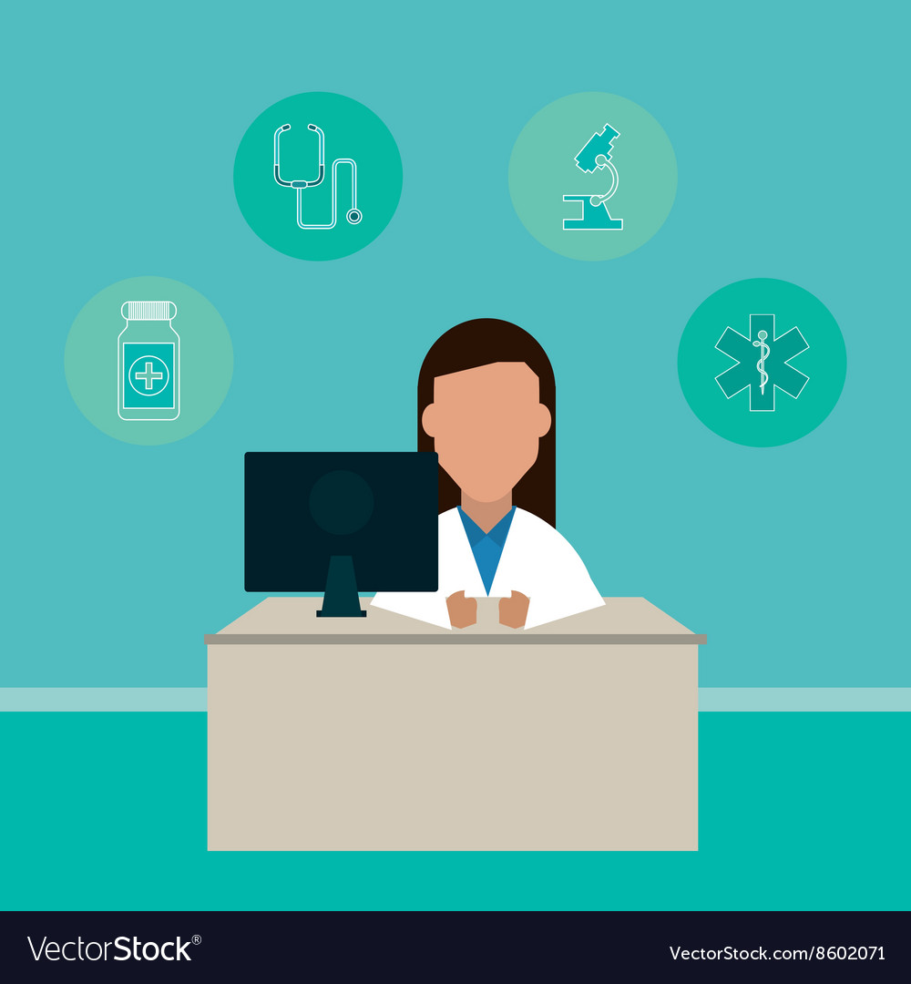 Doctor design medical and healthcare concept