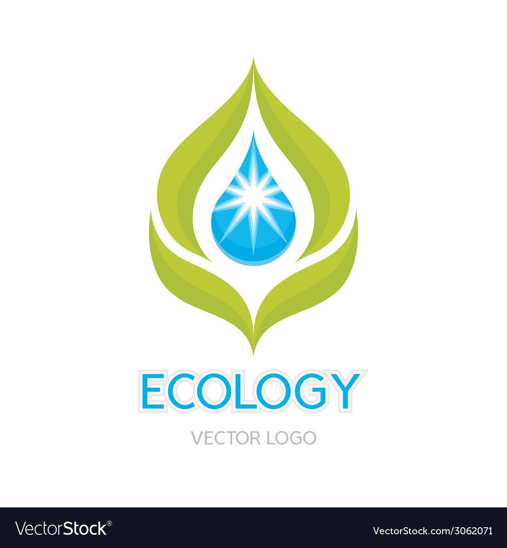 Ecology Concept - Logo vector image