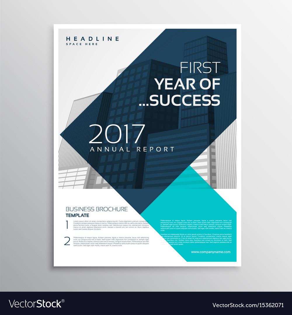 Elegant business flyer template design