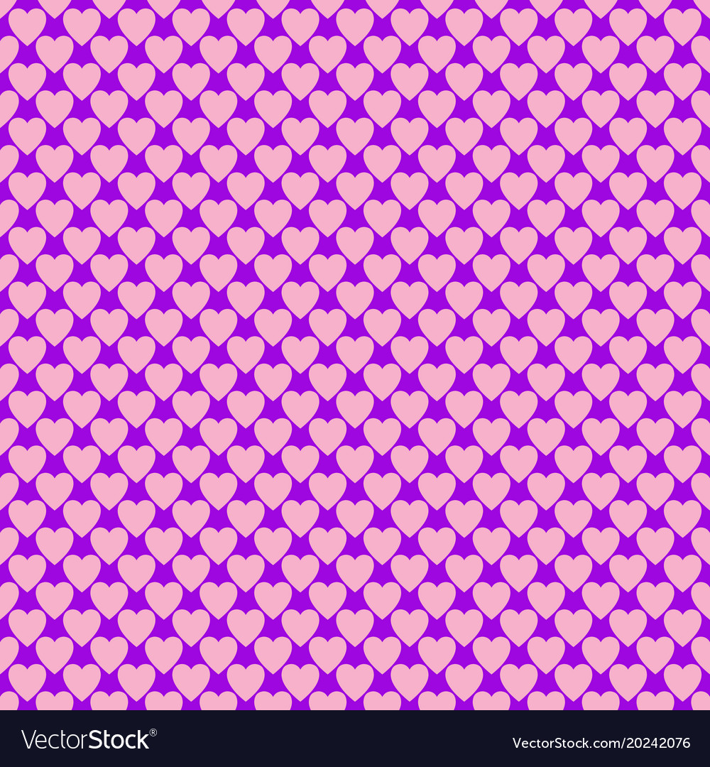 Seamless heart pattern background - love concept