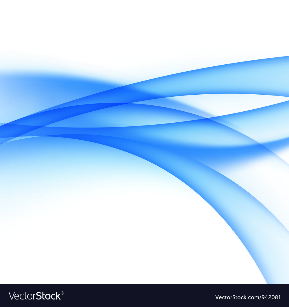 Abstract water wave vector image