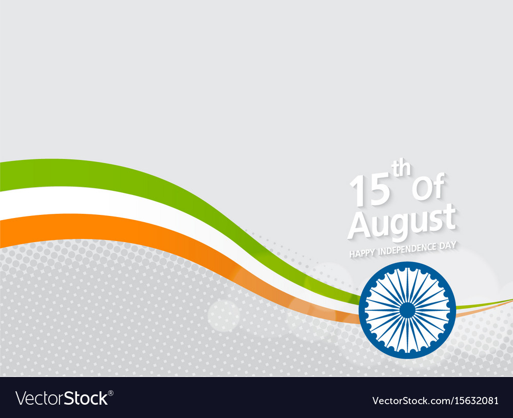 Happy indian independence day celebration