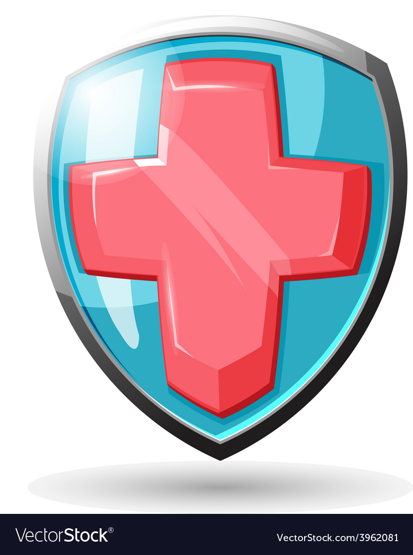 Shield Security Protect vector image