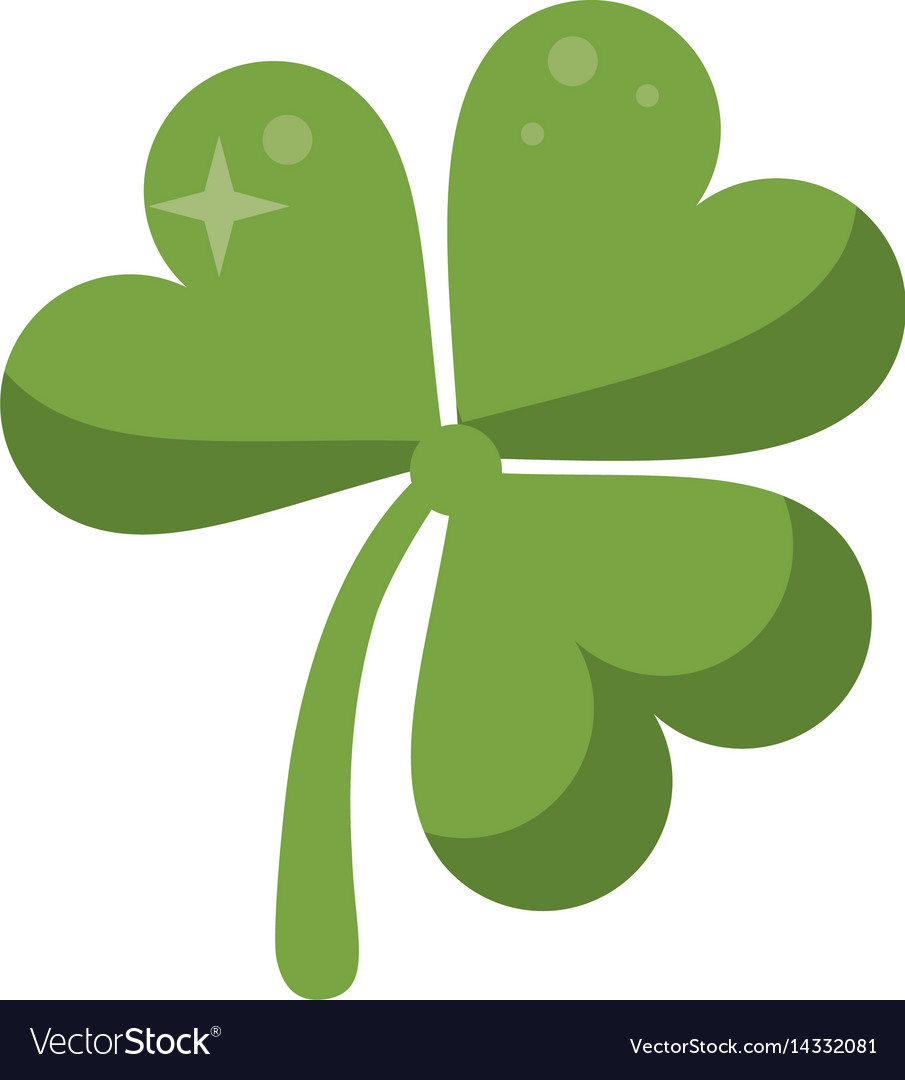 It is a picture of Canny St Patrick's Day Clover Printable