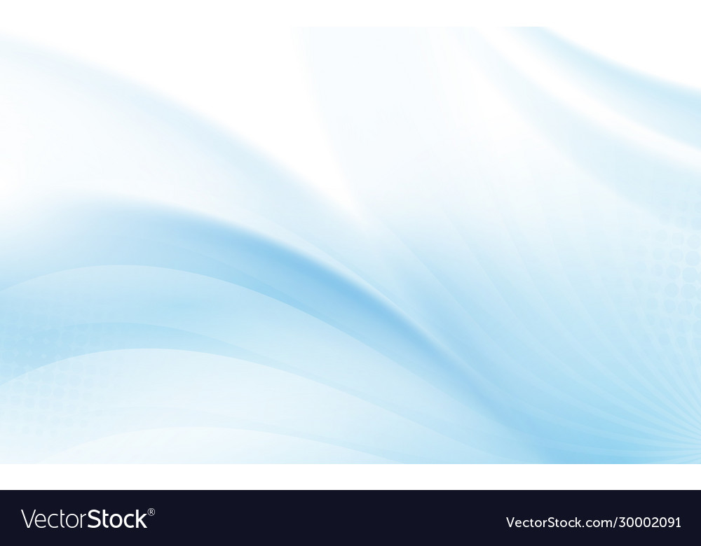 Abstract blue wavy with blurred light curved