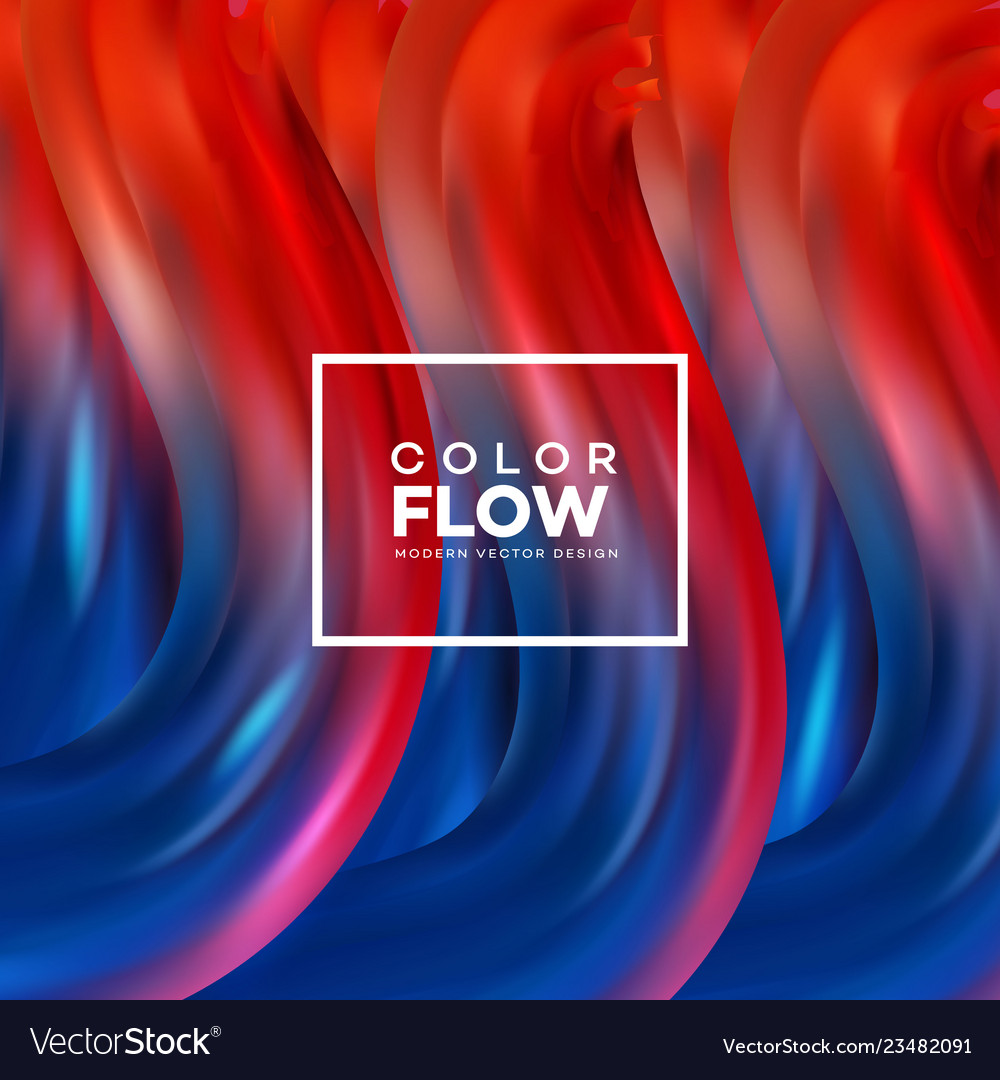 Futuristic abstract background colorful wavy