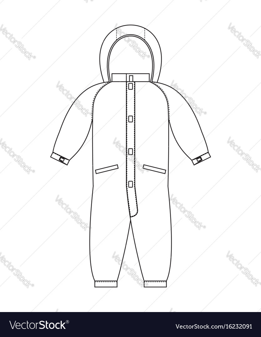 Rompers template scheme childrens clothing line