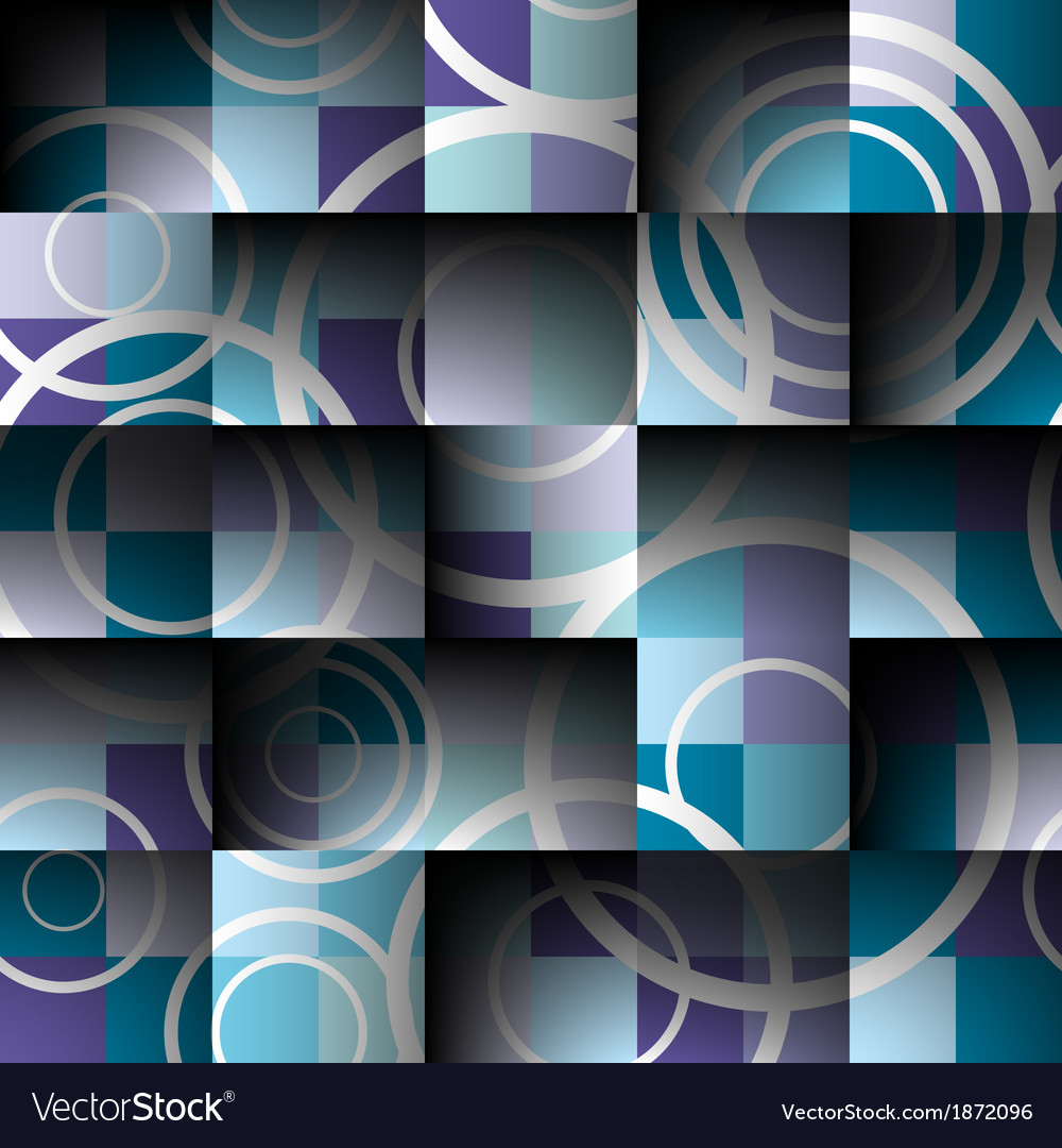Abstract square seamless background