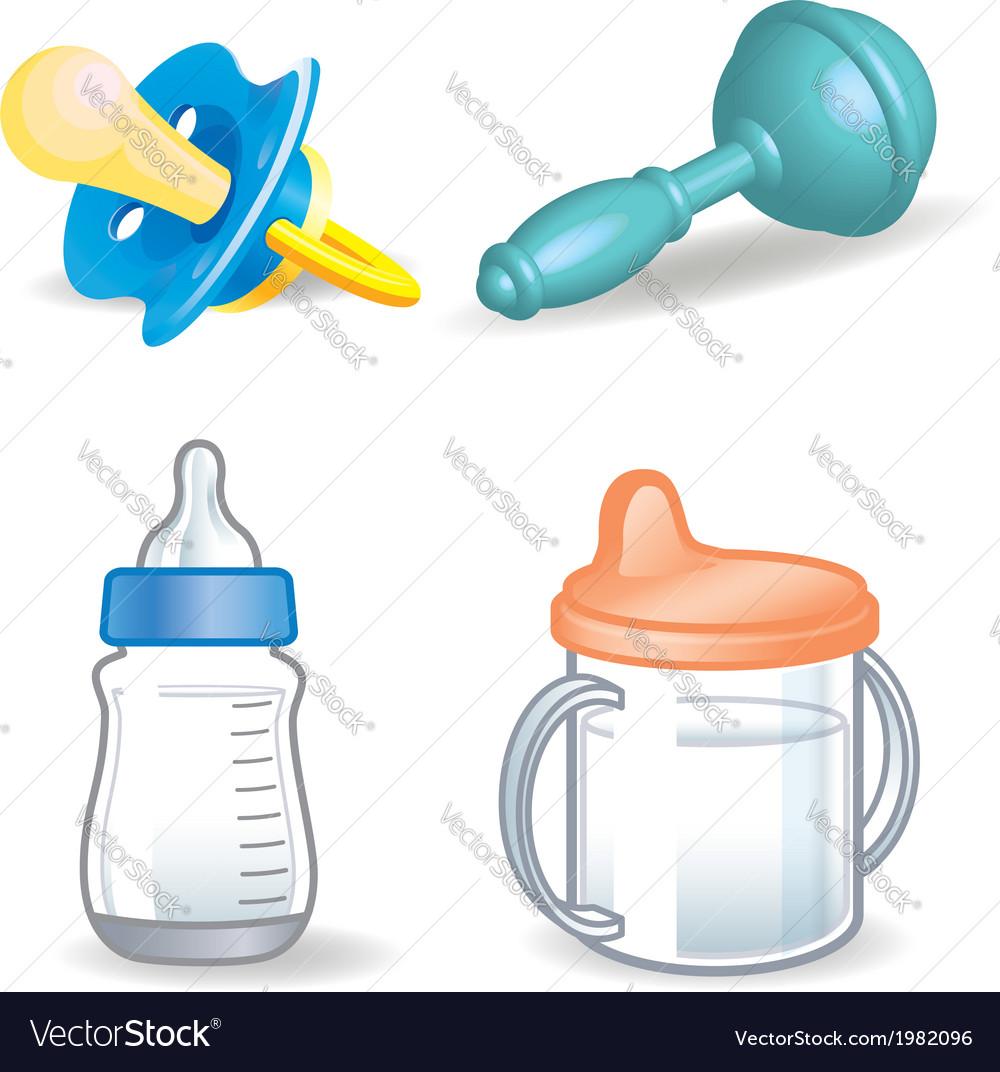 Bathings dummy bottle rattle etc