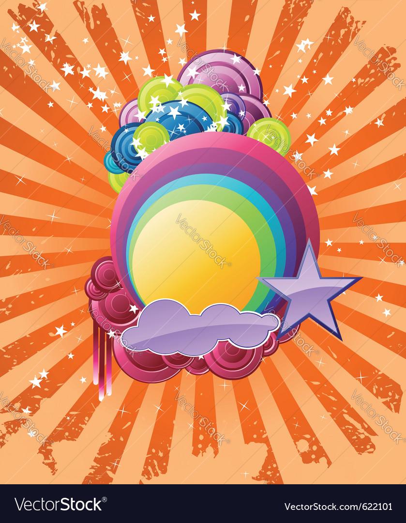 Discotheque rainbow