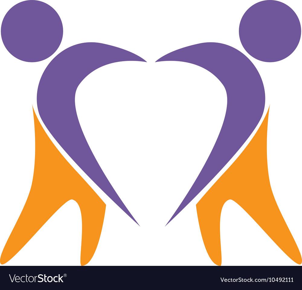 Symbol healthy person design
