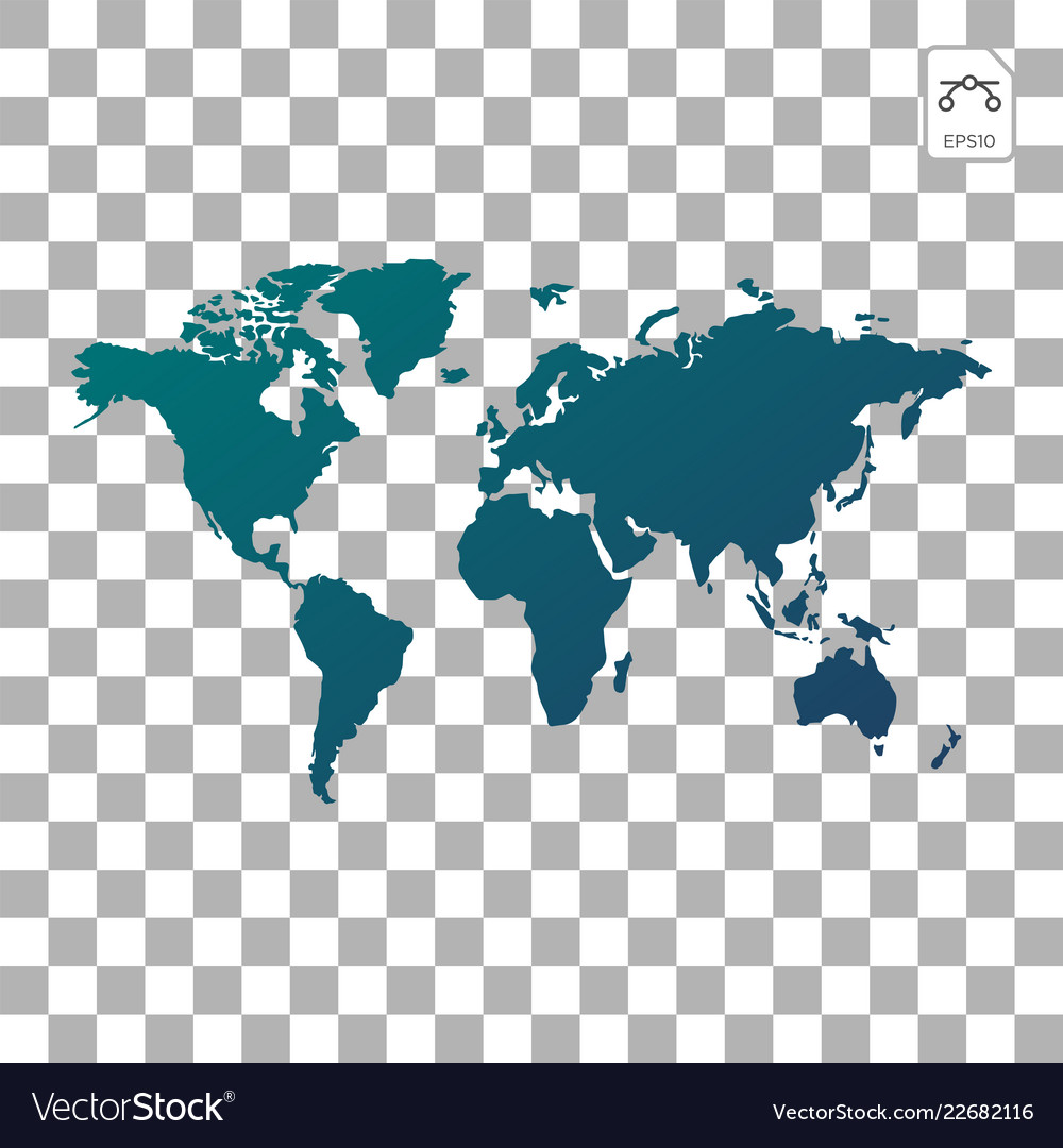 Earth globes isolated on white background flat