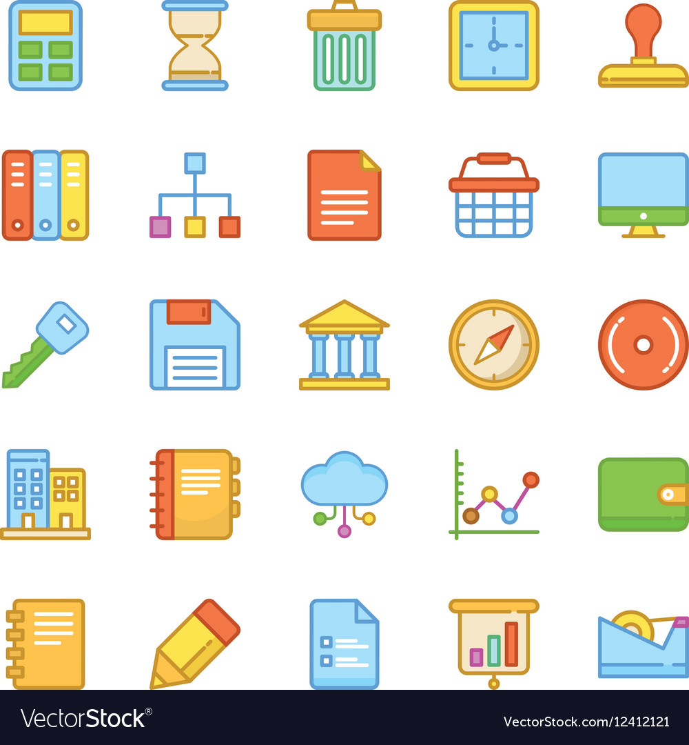 Business Icons 4